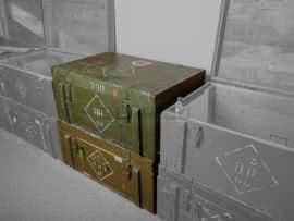 4028 Витрина на основе советского армейского ящика