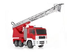 Р/У пожарная машина Double Eagle, брызгает водой 1:20