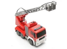 Р/У пожарная машина Double Eagle, брызгает водой 1:20 1