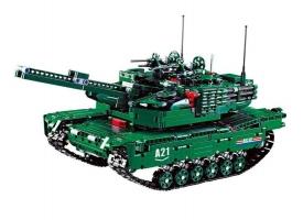Р/У конструктор CaDA Technic танк / бронемашина 2 в 1 (1498 деталей)