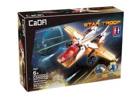 Конструктор CaDA Technic звездный истребитель (287 деталей) 1