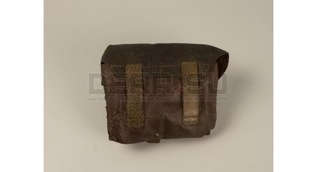 Универсальный подсумок для винтовки Мосина / Оригинал кожа 1940 год [вм-132]