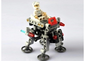 Конструктор CaDA Technic звездный отряд, соберите звездный корабль с C54001W+03W+04W (102 детали) 1