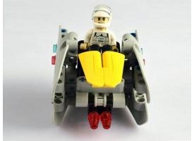 Конструктор CaDA Technic звездный отряд, соберите звездный корабль с C54001W+02W+04W (83 детали) 1