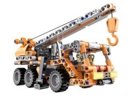 Конструктор CaDA Technic автокран совместим с C52014W, инерционный (272 детали)