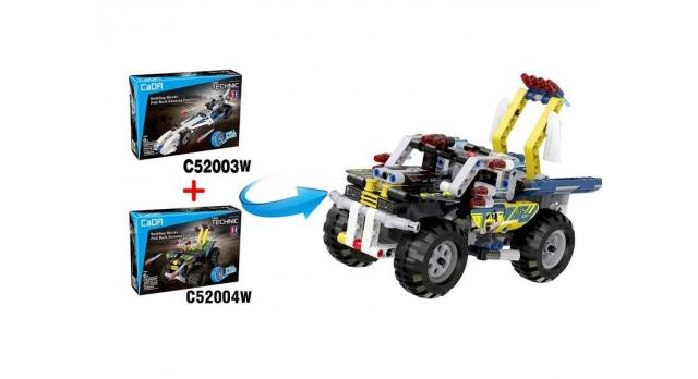 Конструктор CaDA Technic квадроцикл совместим с C52003W, инерционный (164 детали) 2