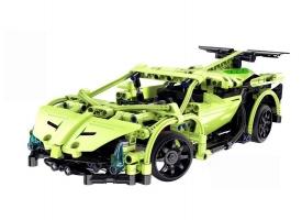 Р/У конструктор CaDA Technic спортивная машина (453 детали)