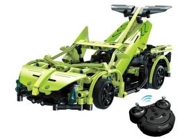 Р/У конструктор CaDA Technic спортивная машина (453 детали) 1