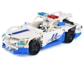 Р/У конструктор CaDA Technic полицейская машина (430 деталей)