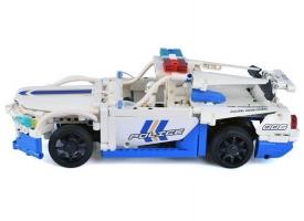 Р/У конструктор CaDA Technic полицейская машина (430 деталей) 1