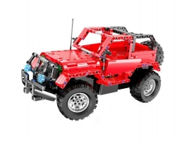 Р/У конструктор CaDA Technic машина Jeep Wrangler (531 деталь)