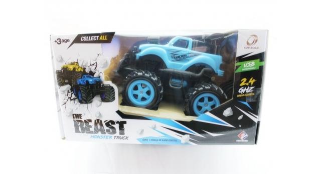 Р/У внедорожник Monstre Truck Pickup Ford Raptor в ассортименте 1/16 + свет + звук 9