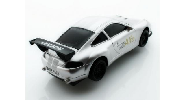 Р/У спортивная машина Porshe Carrera в ассортименте 1/18 + свет 6