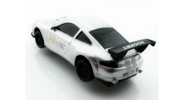 Р/У спортивная машина Porshe Carrera в ассортименте 1/18 + свет 8