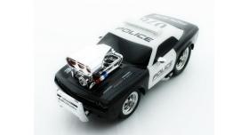 Р/У полицейская машина из серии &quotMuscle Сar&quot с гоночным Мотор. 1/16+свет+звук 1