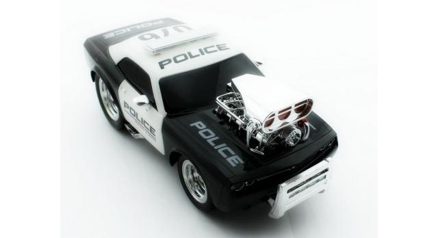 Р/У полицейская машина из серии &quotMuscle Сar&quot с гоночным Мотор. 1/16+свет+звук 8