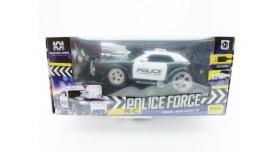 Р/У полицейская машина из серии &quotMuscle Сar&quot с гоночным Мотор. 1/16+свет+звук 18