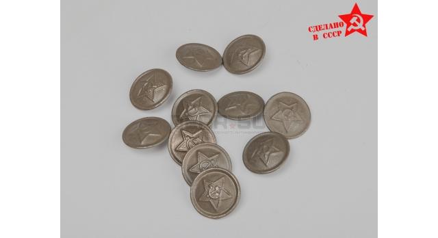 Пуговицы шинельные / Оригинал склад 1940-х зелёные [сн-231-1]