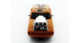 Р/У машина из серии &quotMuscle Сar&quot с гоночным Мотором 1/16 + свет + звук желтая 3