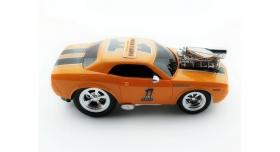 Р/У машина из серии &quotMuscle Сar&quot с гоночным Мотором 1/16 + свет + звук желтая 5