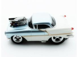 Р/У машина из серии &quotMuscle Сar&quot с гоночным Мотором 1/16 + свет + звук голубая 1