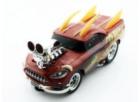 """Р/У машина """"Дракон"""" из серии """"Muscle Сar"""" с гоночным Мотором 1/16 + свет + звук пульт пистол. типа"""