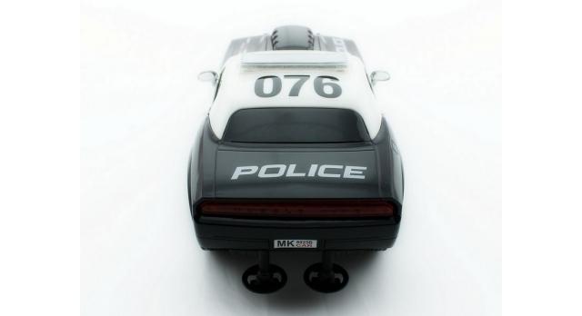 Р/У полицейская машина из серии &quotMuscle Сar&quot 1/16 + свет + звук 6