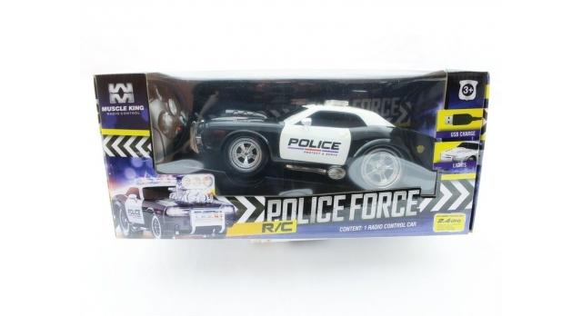 Р/У полицейская машина из серии &quotMuscle Сar&quot 1/16 + свет + звук 16