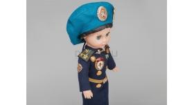 Сувенирная кукла «ВДВ» / Полковник в берете [п-126-1]