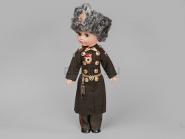4192 Сувенирная кукла «танковые войска»