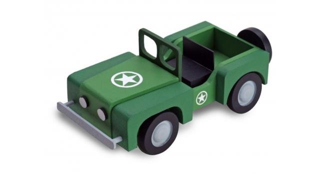Сборная деревянная модель автомобиля Artesania Latina 4X4 CAR 1