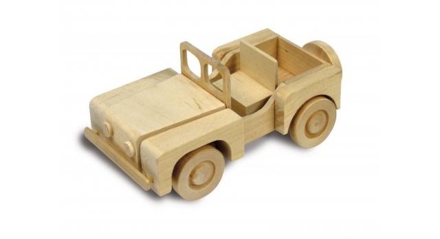 Сборная деревянная модель автомобиля Artesania Latina 4X4 CAR 2