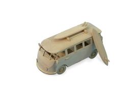 Сборная деревянная модель автомобиля Artesania Latina SURFERs VAN 1