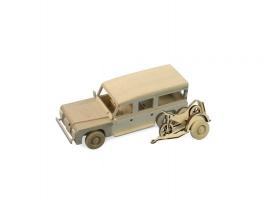Сборная деревянная модель автомобиля Artesania Latina Land Rover МОТОГОНЩИК 1