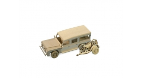 Сборная деревянная модель автомобиля Artesania Latina Land Rover МОТОГОНЩИК 2