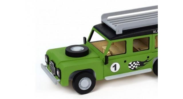 Сборная деревянная модель автомобиля Artesania Latina Land Rover МОТОГОНЩИК 3