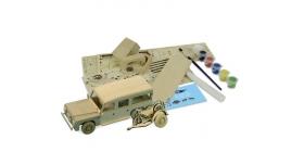 Сборная деревянная модель автомобиля Artesania Latina Land Rover МОТОГОНЩИК 4