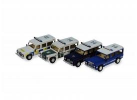 Сборная деревянная модель автомобиля Artesania Latina Land Rover ПОЛИЦИЯ 1