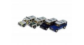Сборная деревянная модель автомобиля Artesania Latina Land Rover ПОЛИЦИЯ 2