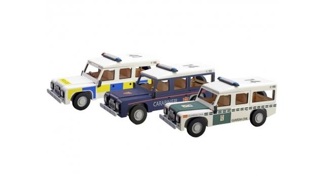 Сборная деревянная модель автомобиля Artesania Latina Land Rover ПОЛИЦИЯ 3