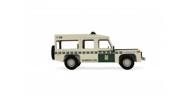 Сборная деревянная модель автомобиля Artesania Latina Land Rover ПОЛИЦИЯ 4