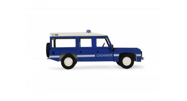 Сборная деревянная модель автомобиля Artesania Latina Land Rover ПОЛИЦИЯ 5