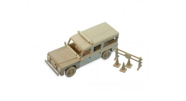 Сборная деревянная модель автомобиля Artesania Latina Land Rover ПОЛИЦИЯ 8
