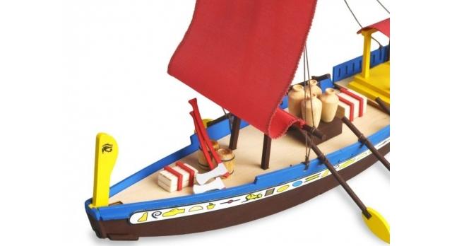 Сборная деревянная модель корабля Artesania Latina CLEOPATRA (EGYPTIAN BOAT) 4
