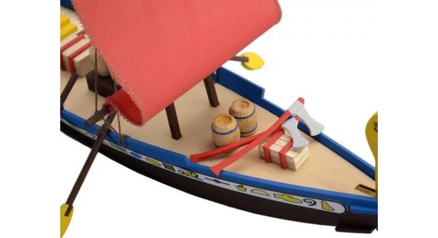 Сборная деревянная модель корабля Artesania Latina CLEOPATRA (EGYPTIAN BOAT) 5