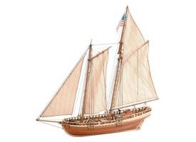 Сборная деревянная модель корабля Artesania Latina VIRGINIA AMERICAN SCHOONER, 1/41