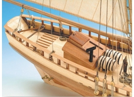 Сборная деревянная модель корабля Artesania Latina VIRGINIA AMERICAN SCHOONER, 1/41 1