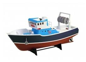 """Собранная деревянная модель рыболовецкого судна Artesania Latina """"ATLANTIS"""" (Build & Navigate series), 1/15"""