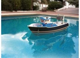 Собранная деревянная модель рыболовецкого судна Artesania Latina &quotATLANTIS&quot (Build & Navigate series), 1/15 1
