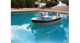 Собранная деревянная модель рыболовецкого судна Artesania Latina &quotATLANTIS&quot (Build & Navigate series), 1/15 2
